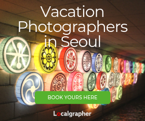 Vacation Photographers in Seoul