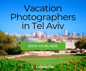 Vacation Photographers in Tel Aviv