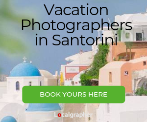 Vacation Photographers in Santorini