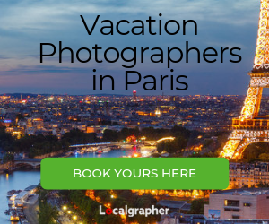 Vacation Photographers in Paris