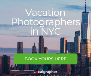 vacation photographers in New York City