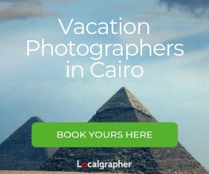 vacation photographers in Cairo