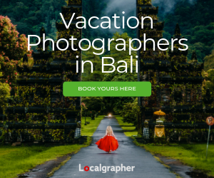 Vacation Photographers in Bali
