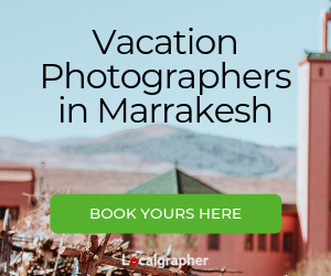 vacation photographers in Marrakesh